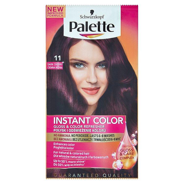 Fotografie Schwarzkopf Palette Instant Color barva na vlasy Tmavá Třešeň 11