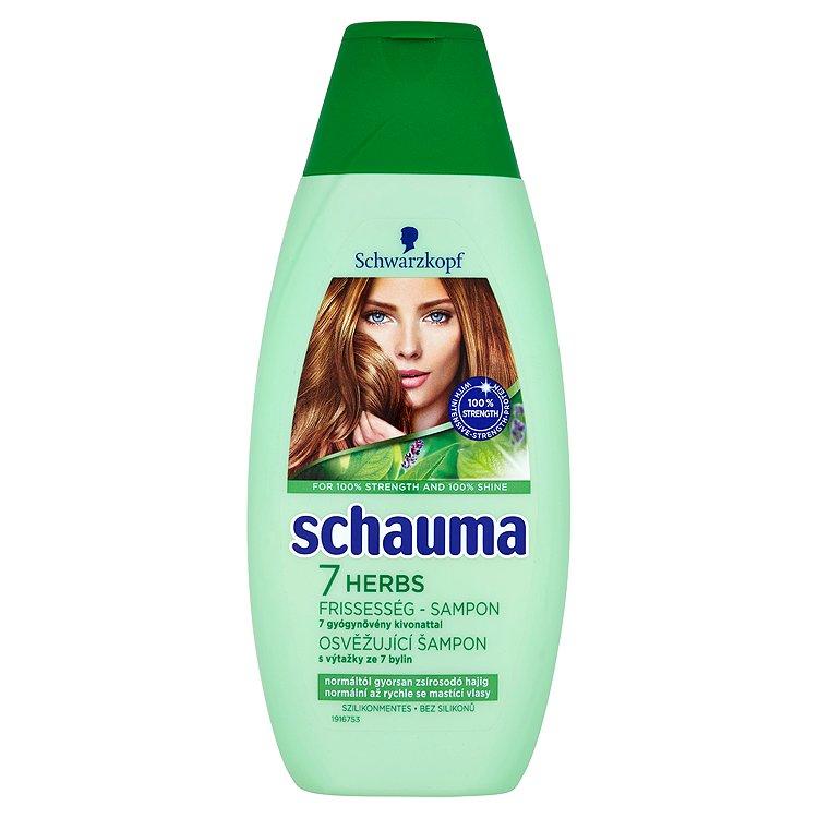 Fotografie Schauma 7 Bylin šampon 400 ml