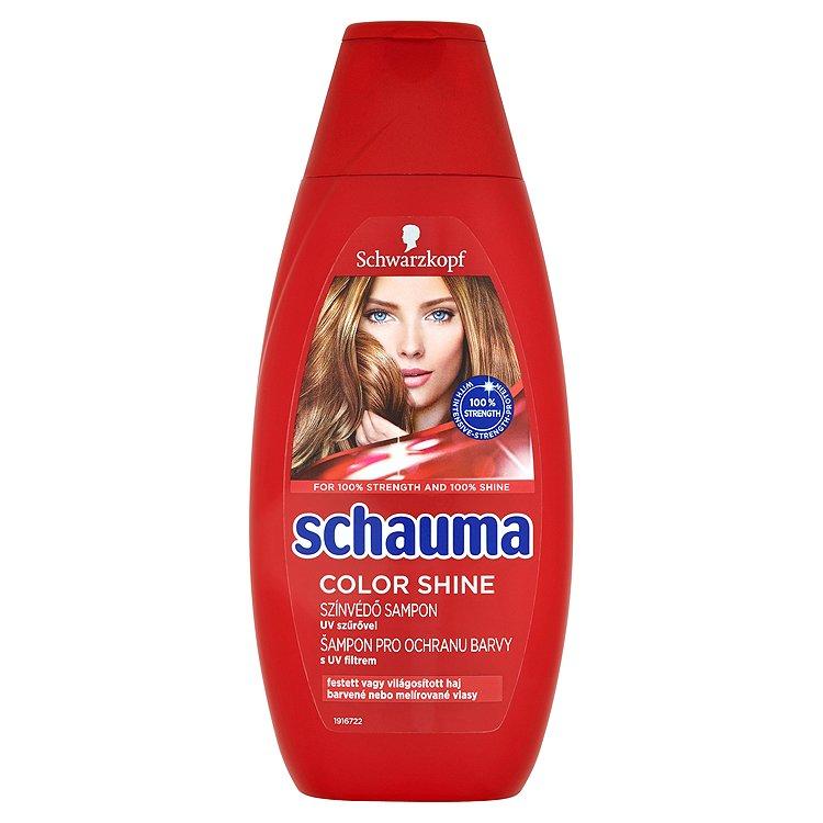 Fotografie Schauma Šampon Pro lesk barvy 400 ml
