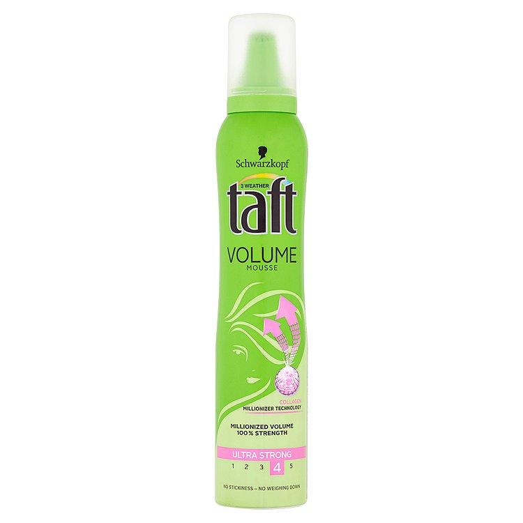 Fotografie Taft Volume Pěnové tužidlo Ultra silná fixace 200 ml