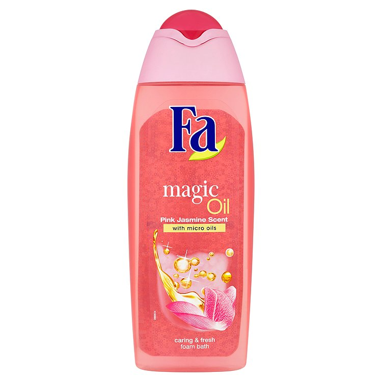 Fotografie Fa Magic Oil Pink Jasmin pěna do koupele 500 ml