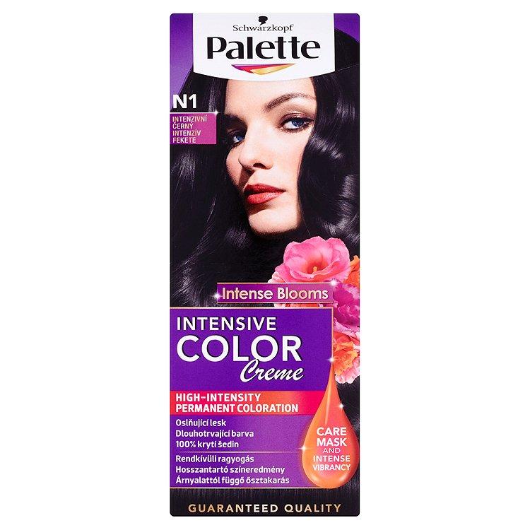 Schwarzkopf Palette Intensive Color Creme barva na vlasy Intenzivní Černý N1