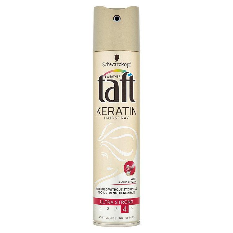 Taft Keratin Complete lak na vlasy ultra silná fixace 250 ml