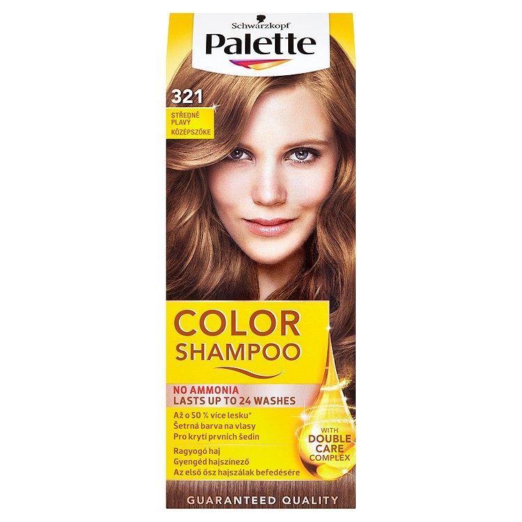 Schwarzkopf Palette Color Shampoo barva na vlasy Středně Plavý 321