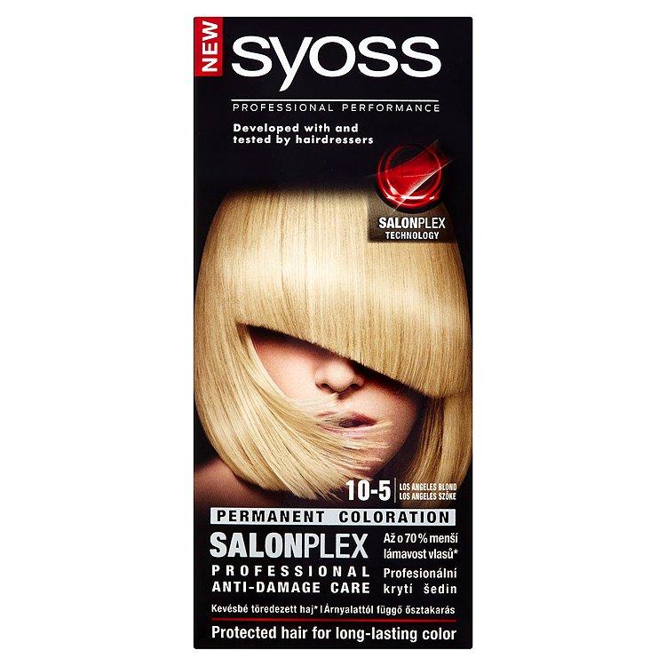Fotografie Syoss barva na vlasy Los Angeles Blond 10-5