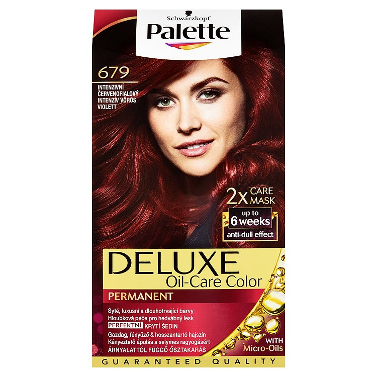 Schwarzkopf Palette Deluxe barva na vlasy Intenzivní Červenofialový 679