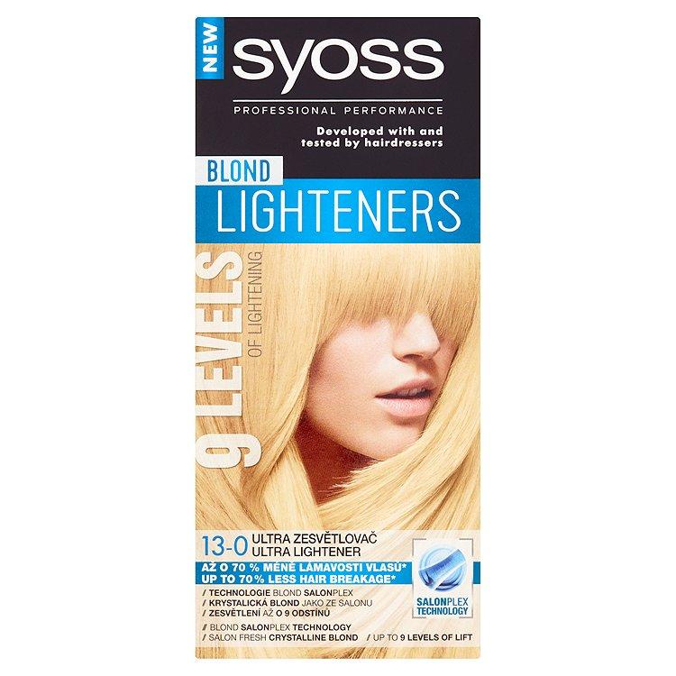 Fotografie Syoss Blond Lighteners Ultra zesvětlovač 13-0