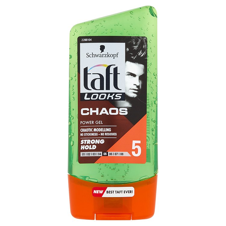 Fotografie Taft Looks Chaos Look stylingový gel 150 ml