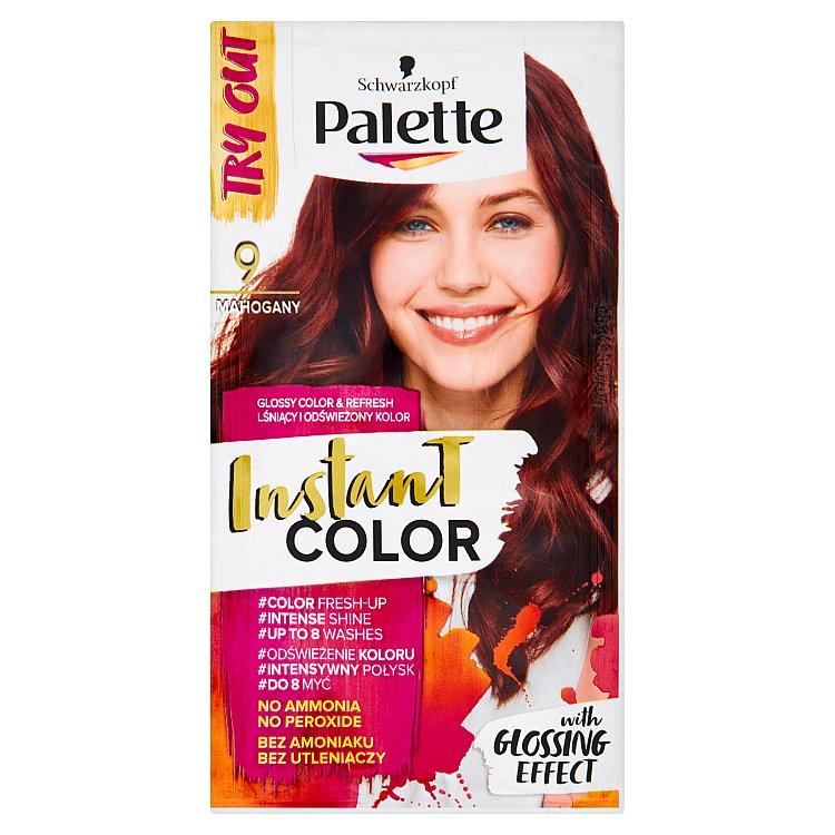 Fotografie Schwarzkopf Palette Instant Color barva na vlasy Mahagonový 9