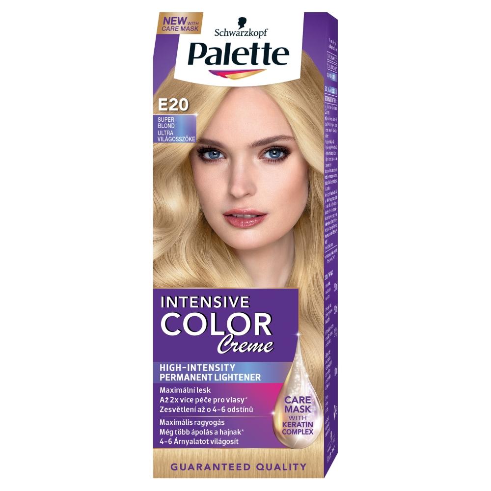 Schwarzkopf Palette Intensive Color Creme barva na vlasy Super Blond E20