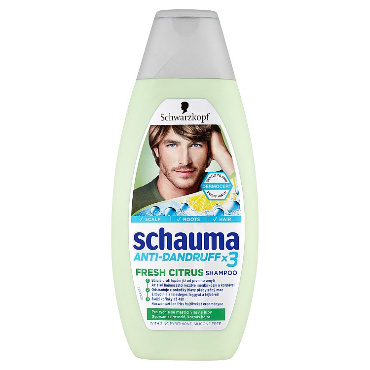 Fotografie Schauma Proti lupům Citronová tráva šampon 400 ml