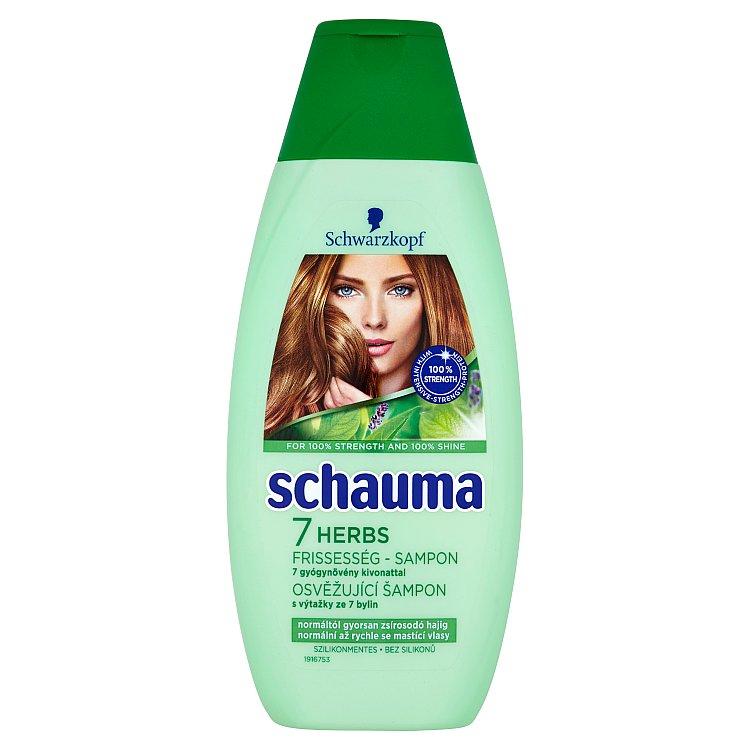Schauma 7 Bylin šampon 400 ml