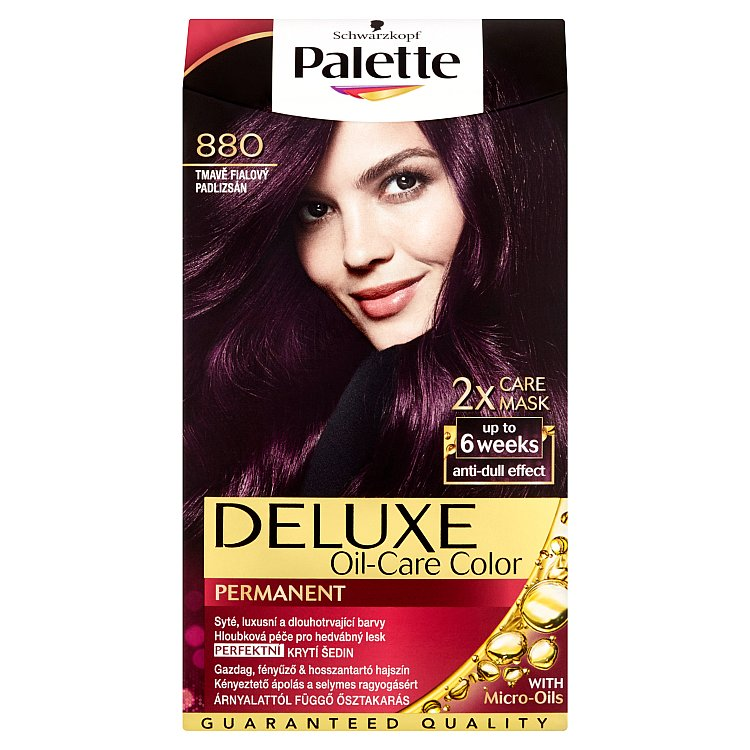 Schwarzkopf Palette Deluxe barva na vlasy Tmavě Fialový 880