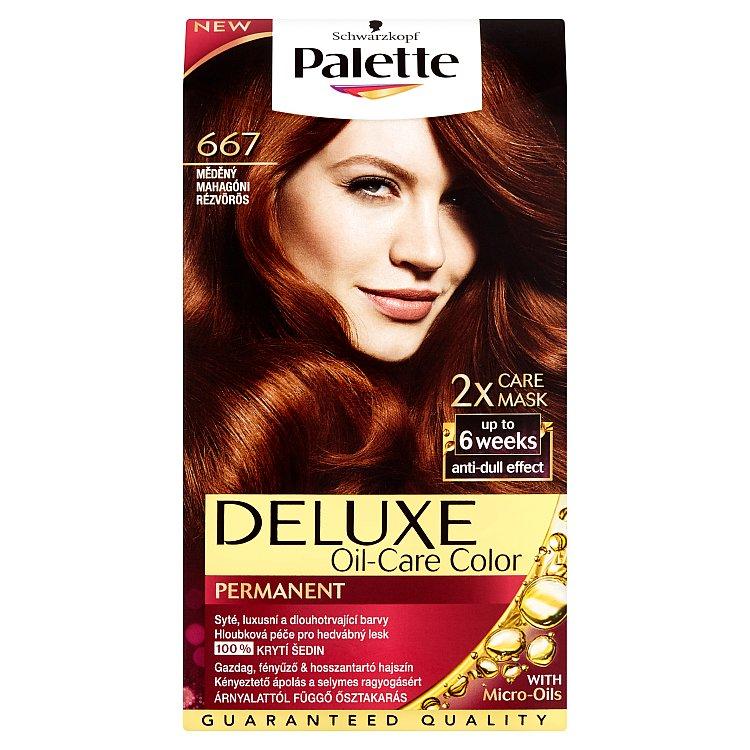Fotografie Schwarzkopf Palette Deluxe barva na vlasy Měděný 667