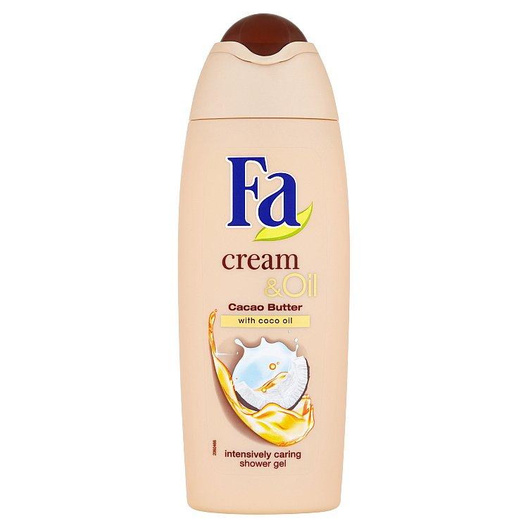 Fa sprchový gel Cream & Oil Kakaové máslo a Kokosový olej 250 ml