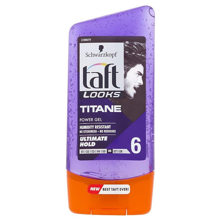 Fotografie Taft Looks Titan Look stylingový gel 150 ml