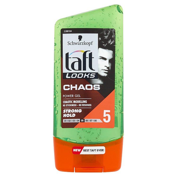 Fotografie Taft Looks Chaos Look stylingový gel 150 ml