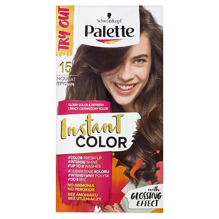 Schwarzkopf Palette Instant Color barva na vlasy Nugátově Hnědá 15