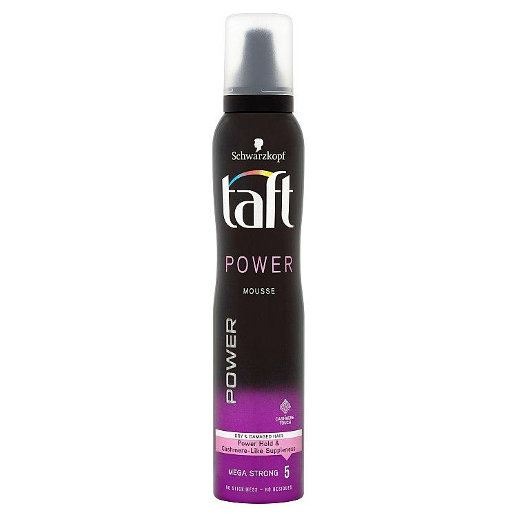 Taft Power Cashmere Pěnové tužidlo Mega silná fixace 200 ml