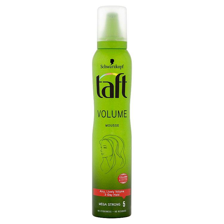 Taft Volume Pěnové tužidlo Mega silná fixace 200 ml