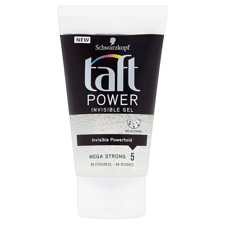 Fotografie Taft Invisible Power stylingový gel 150 ml