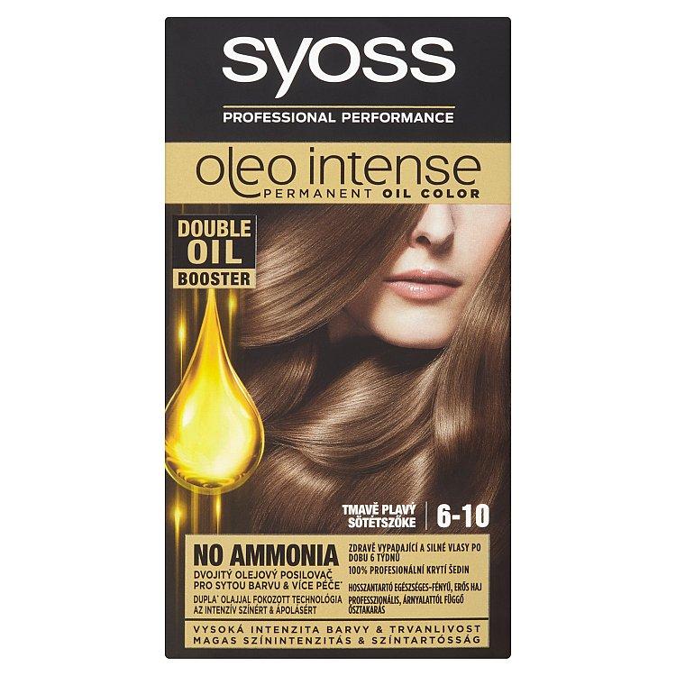 Syoss Oleo Intense barva na vlasy Tmavě Plavý 6-10