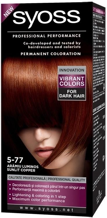 Syoss barva na vlasy Oslňující Měděný 5-77