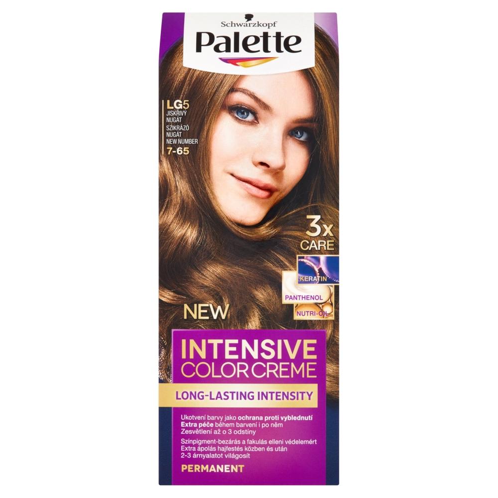 Schwarzkopf Palette Intensive Color Creme barva na vlasy odstín Jiskřivý nugát LG5