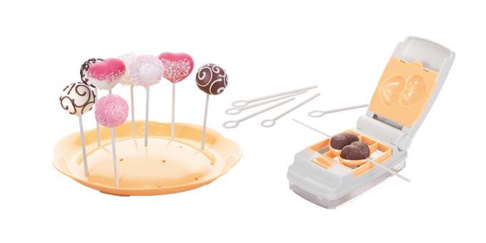 Tvořítka na cake pops DELÍCIA, 6 tvarů