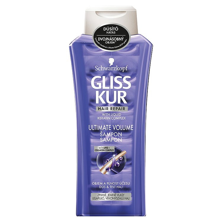 Gliss Kur regenerační šampon Ultimate Volume 400 ml