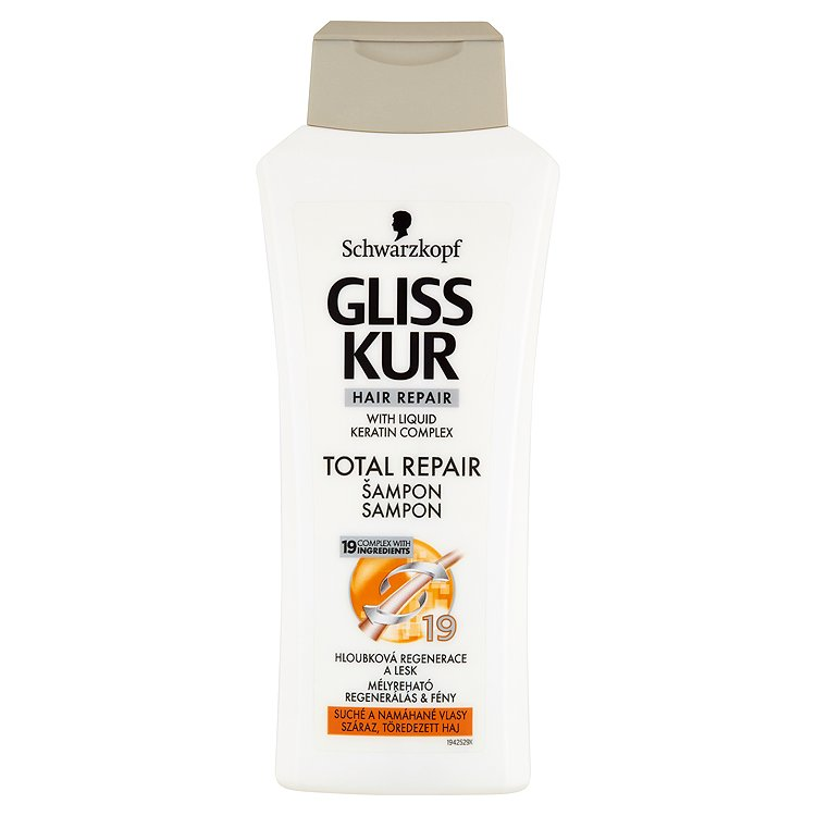 Gliss Kur regenerační šampon Total Repair 19 400 ml