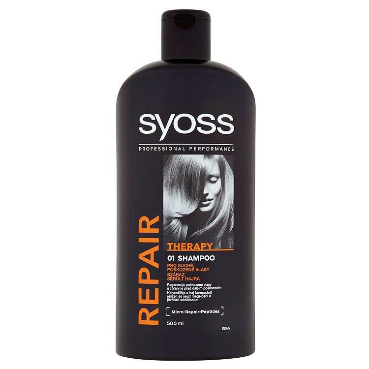 Fotografie Syoss Repair Therapy Šampon 500 ml