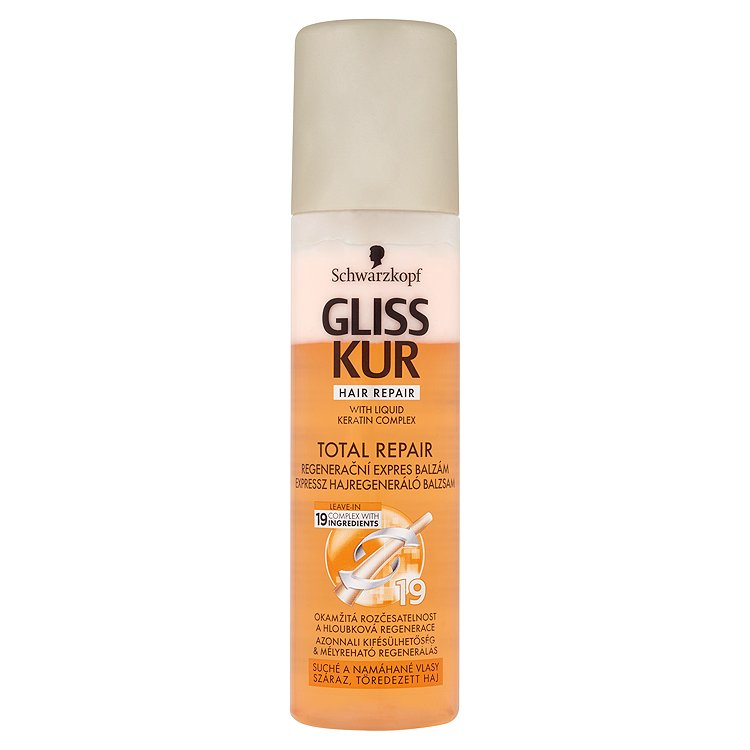 Gliss Kur regenerační expres balzám Total Repair 19 200 ml
