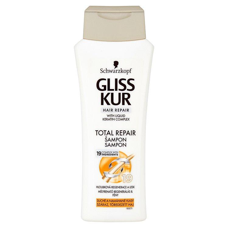 Gliss Kur regenerační šampon Total Repair 19 250 ml