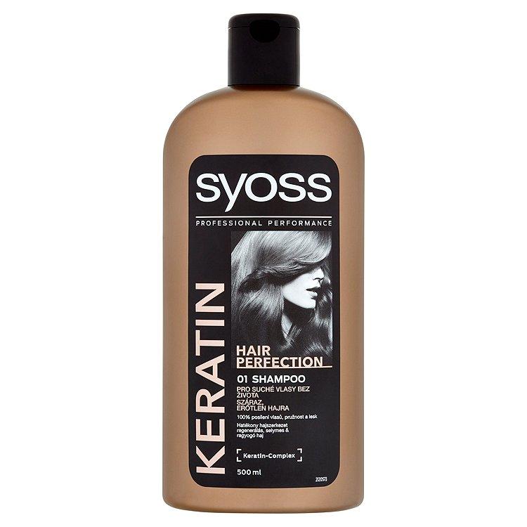 Fotografie Syoss Šampon Keratin Hair Perfection 500 ml