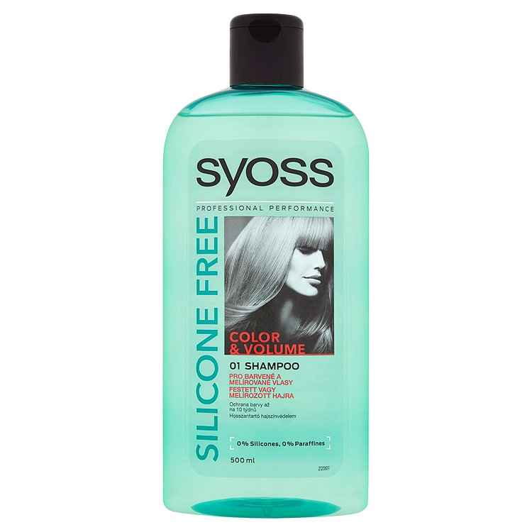Syoss Color & Volume šampon bez silikonů 500 ml