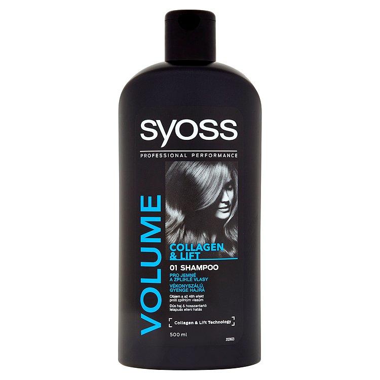 Fotografie Syoss Volume Collagen & Lift šampon 500 ml