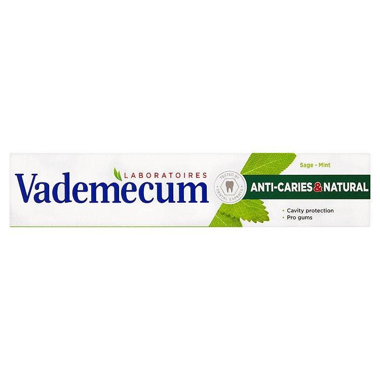 Fotografie Vademecum Anti Caries & Naturel Zubní pasta 75 ml