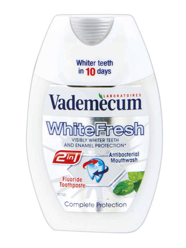 Vademecum 2v1 zubní pasta White Fresh 75 ml