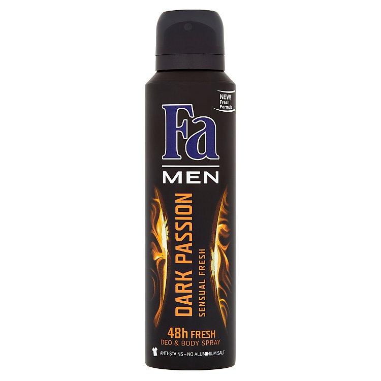 Fotografie Fa Men Dark Passion Deodorant 150 ml