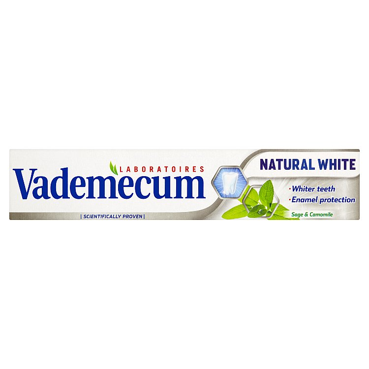 Fotografie Vademecum Natural White Zubní pasta 75 ml