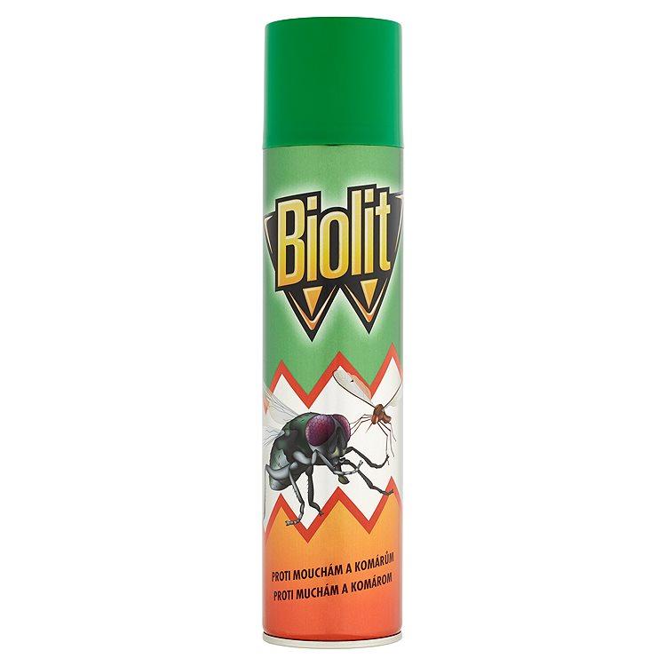 Fotografie Biolit L-Spray na létající hmyz 400 ml