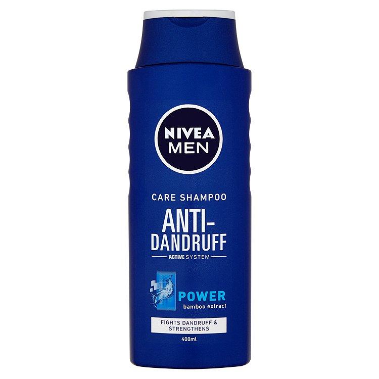 Fotografie Nivea Men Power šampon proti lupům pro muže 400 ml