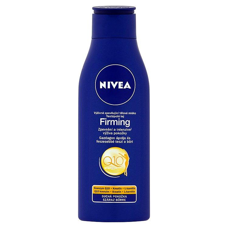 Nivea Q10 Energy+ Výživné zpevňující tělové mléko 250 ml