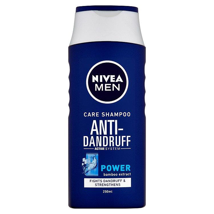 Fotografie Nivea Men Power šampon proti lupům pro muže 250 ml