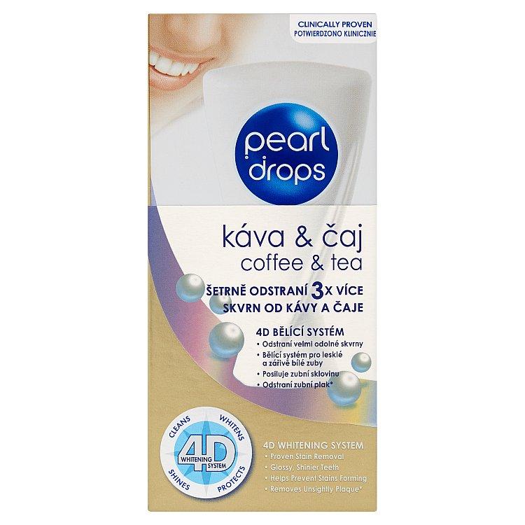 Pearl Drops bělicí zubní pasta Tea & Coffee 50 ml