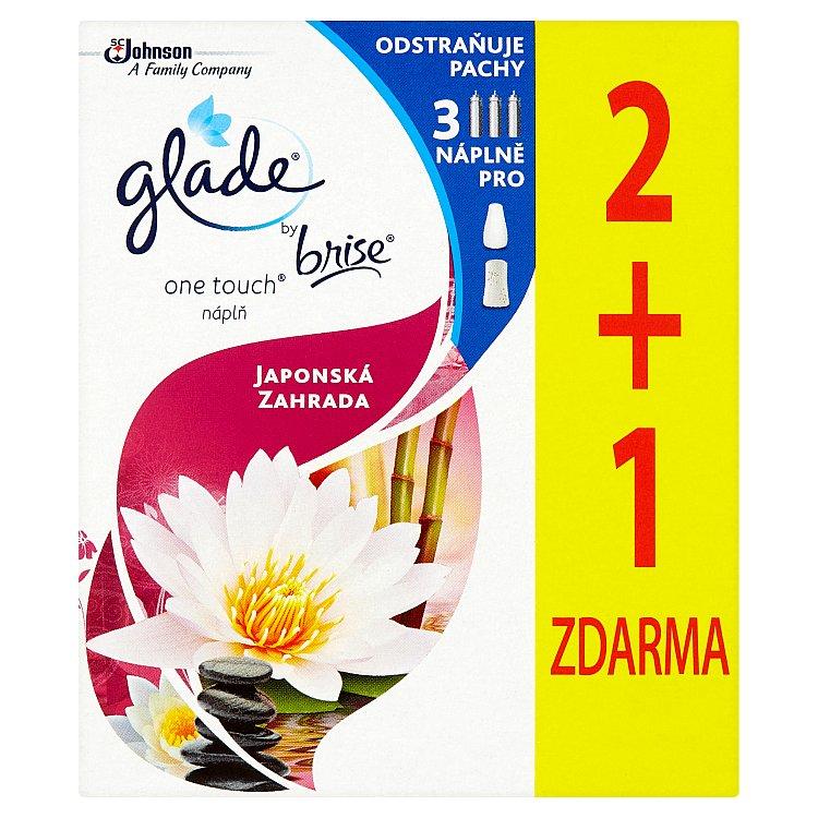Glade by Brise One Touch Mini spray japonská zahrada - náplň do osvěžovače vzduchu 3 x 10 ml