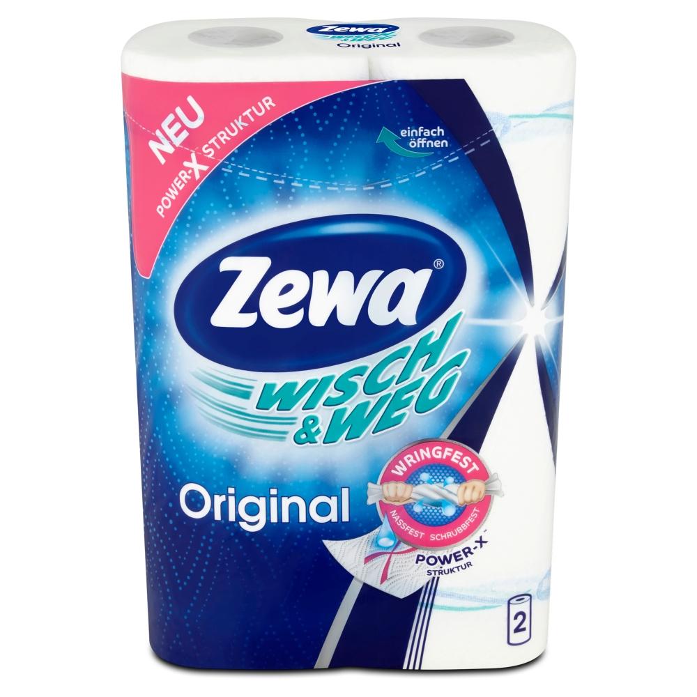 Zewa Wisch & Weg Original kuchyňské utěrky 2vrsvé 2 ks
