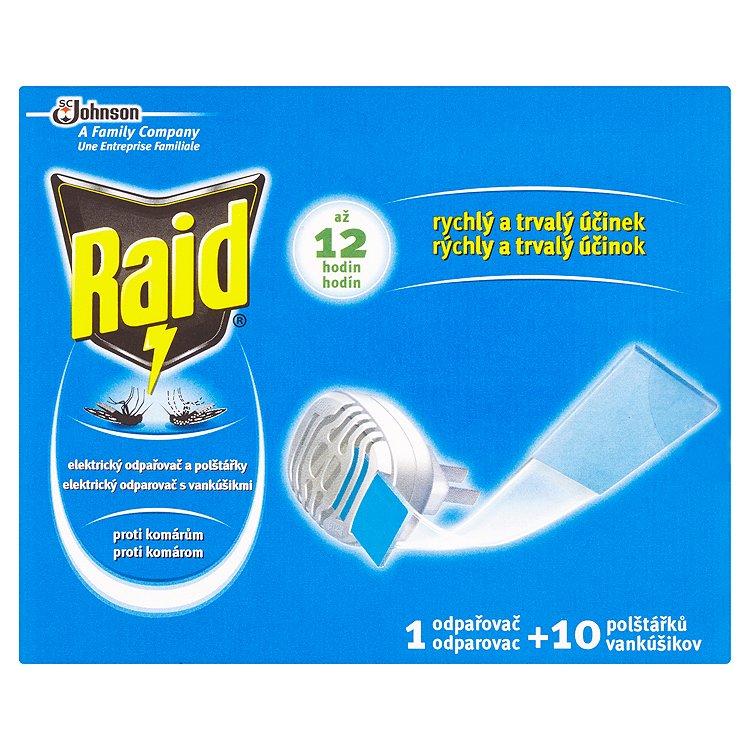 Fotografie Raid Elektrický odpařovač a polštářky proti komárům