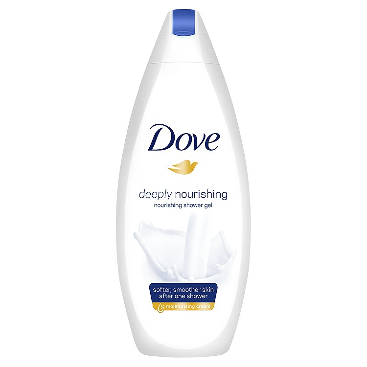 Dove Deeply nourishing vyživující sprchový gel 250 ml